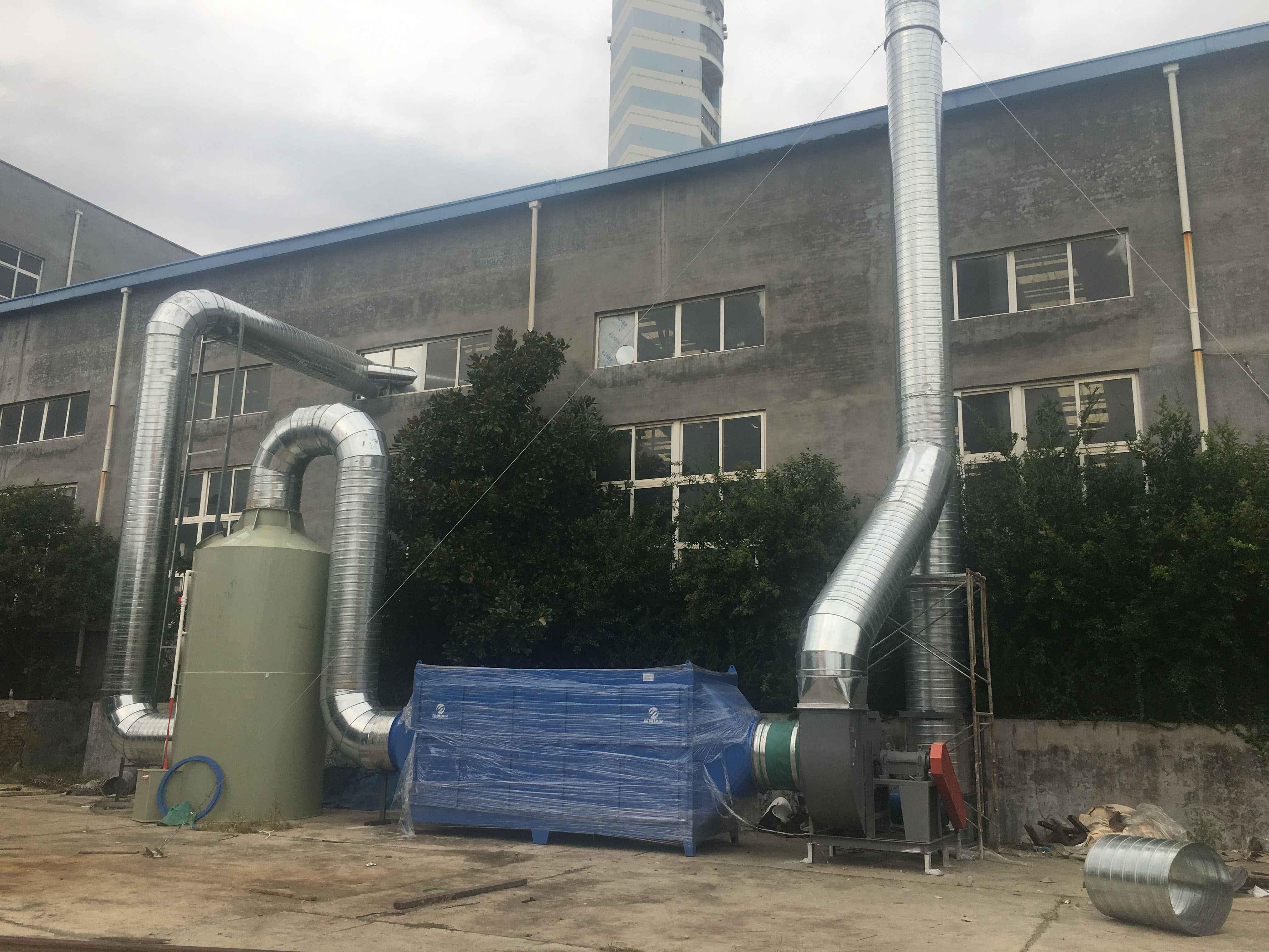 青岛汉河电缆—废气治理项目