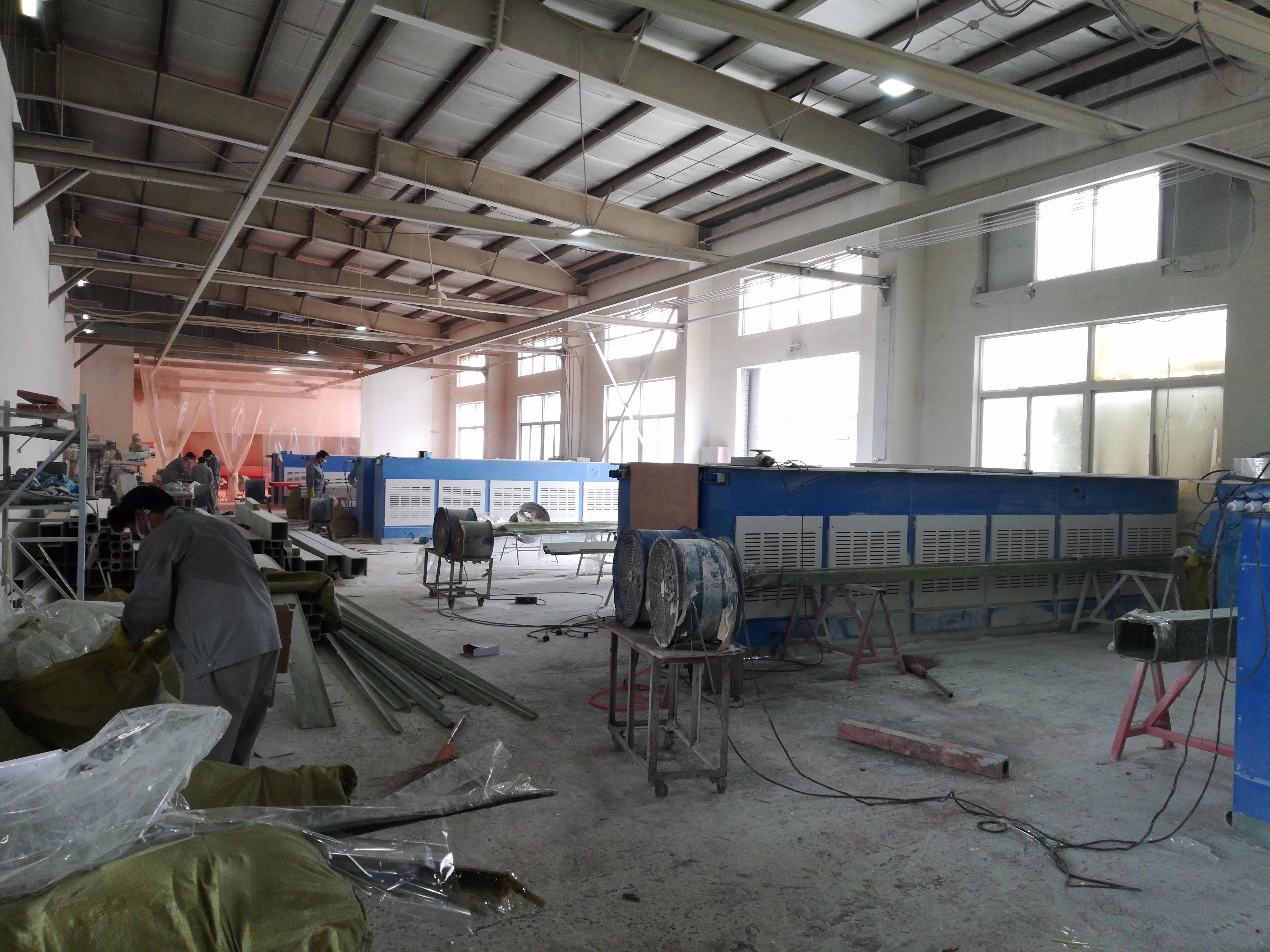 上海工力集团—打磨粉尘治理项目