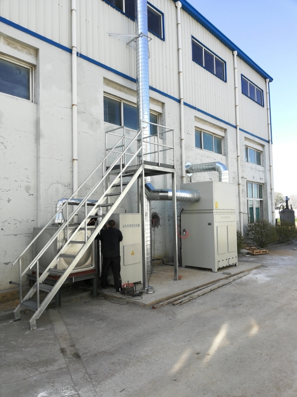 青岛永隆集团—化工废气治理项目